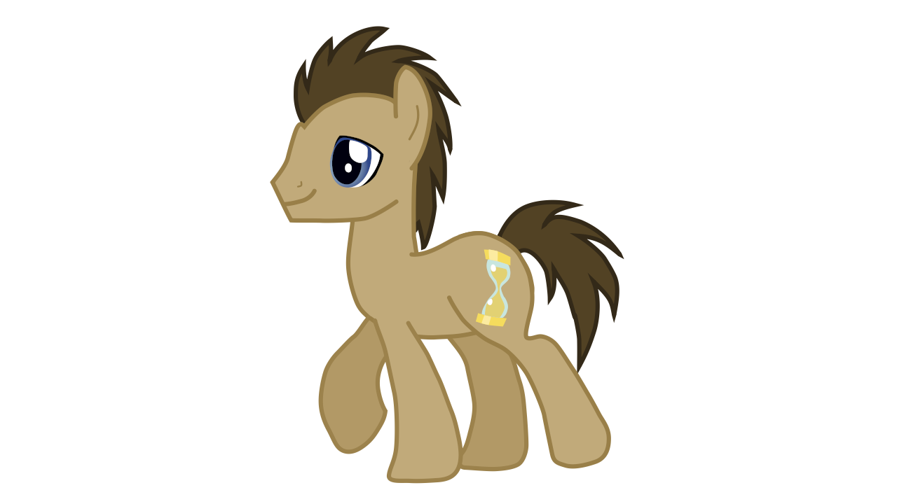 doctor whooves  synfig model  by testing