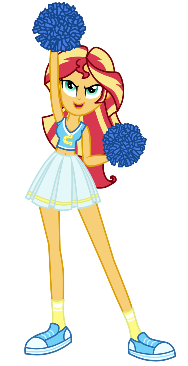 cheerleader sunset shimmer by mixiepie-d