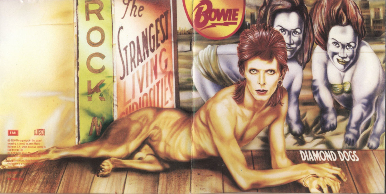 David Bowie - Diamond Dogs-front