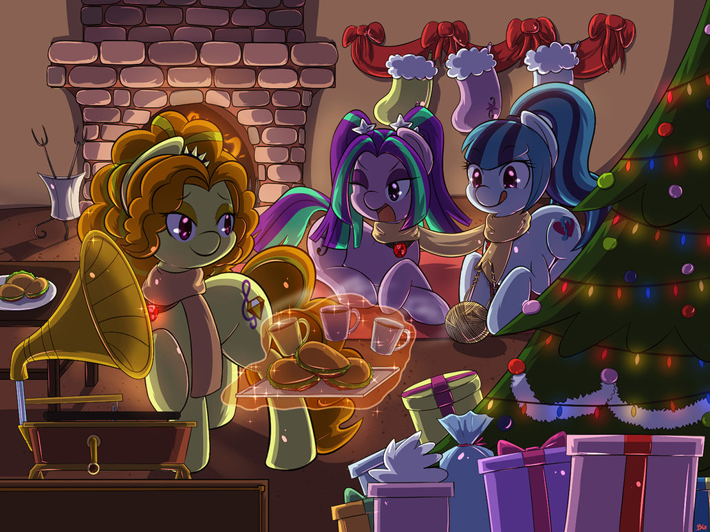 commission christmas with the sirens by