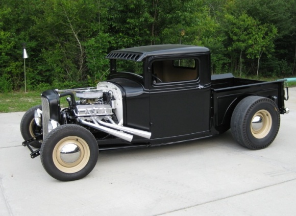 1932 Ford Steel Hot Rod Truck Satin For
