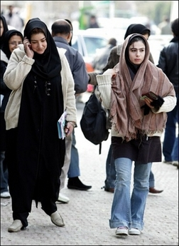 women walk tehran.jpe