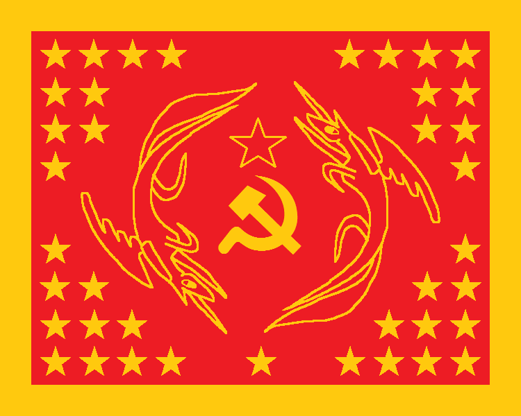 flag of equestria  communist  by tkangar