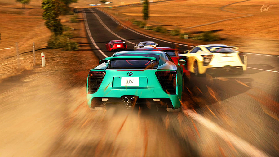 the chase  lexus lfa  by relax90-d5fcif9