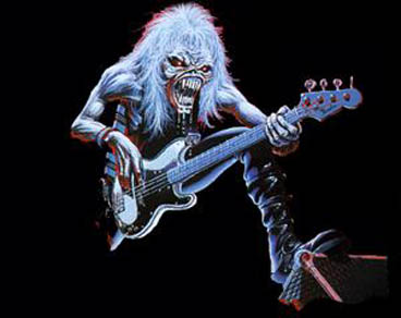 iron maiden eddie bass