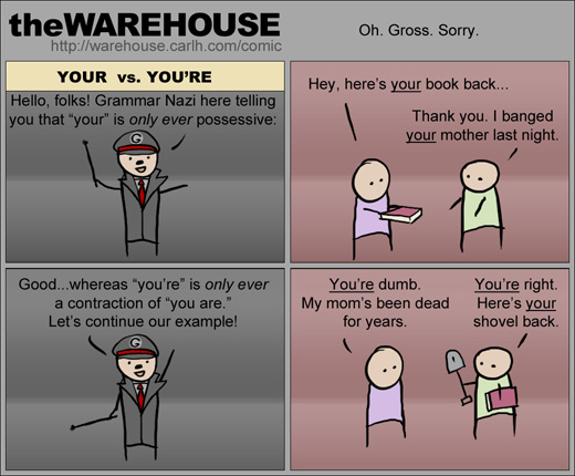 YOUR theWAREHOUSE