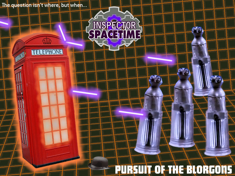 inspector spacetime vs the blorgons by h