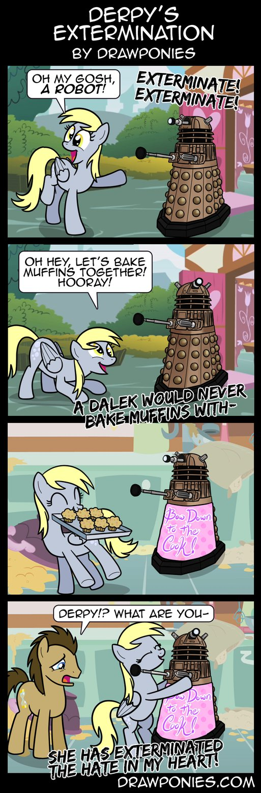 comic  derpy s extermination by drawponi