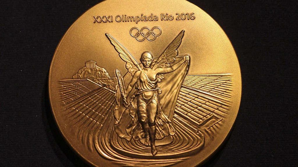 Goldmedaillen Olympia