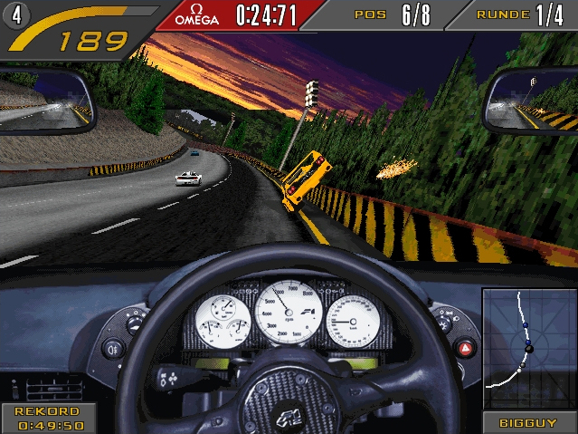 acf227 Need For Speed II SE Gameplay