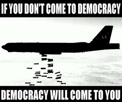 democracy will come to you