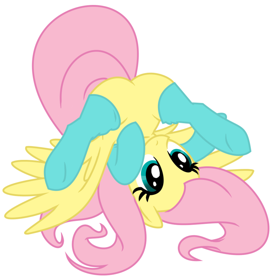 fluttershy socks by spectrumstrings-d6t7