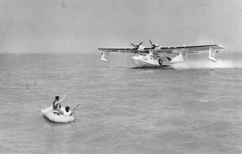 PBY OA 10A off Keesler Field 1944