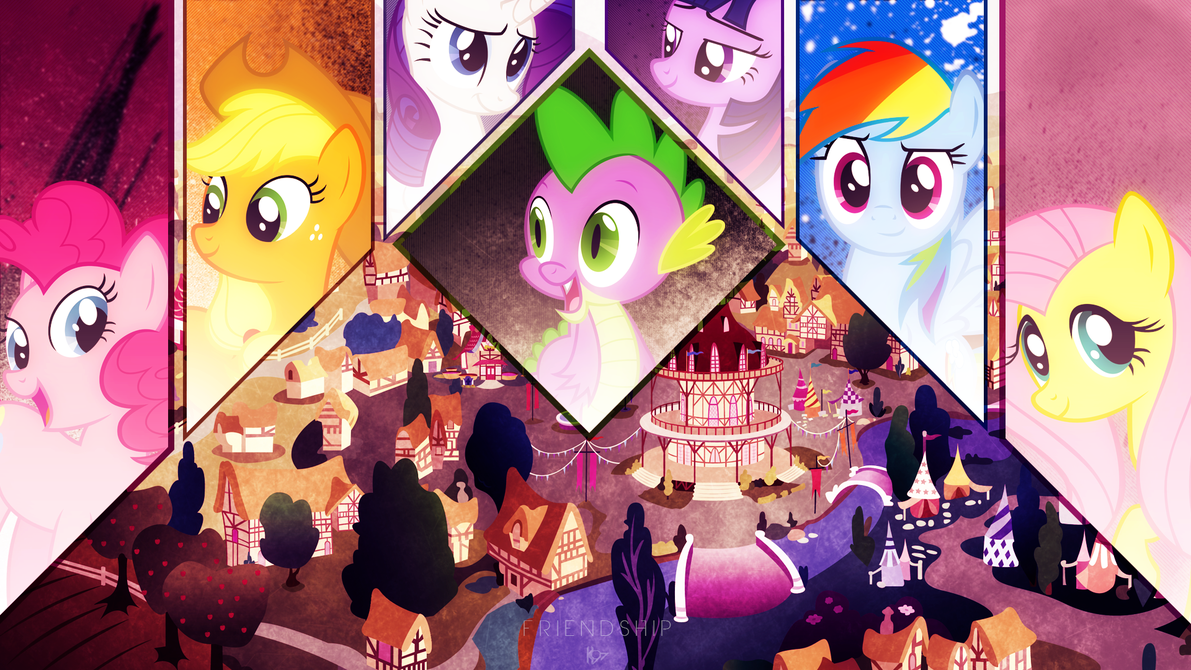 friendship vip   wallpaper by karl97-d6e