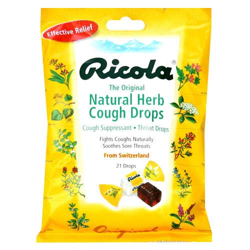 Ricola Herb Candy For Dry Throat