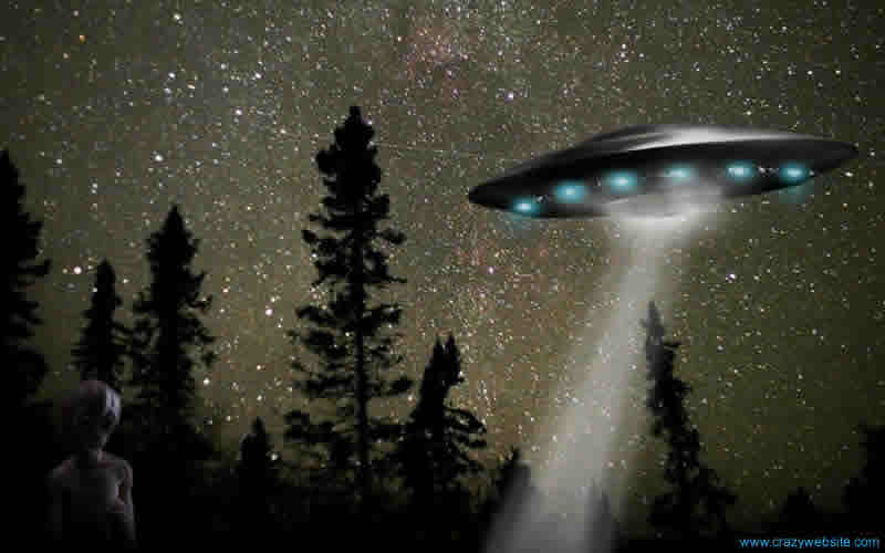 Wallpaper UFO Widescreen Alien Saucer Fo