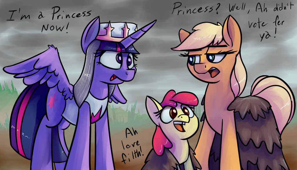 twilight sparkle and the holy grail by i