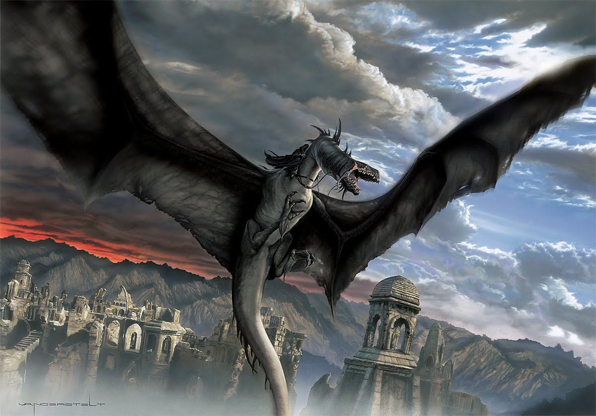 Alf img - Showing u0026gt; The Nazgul with Its Dragon