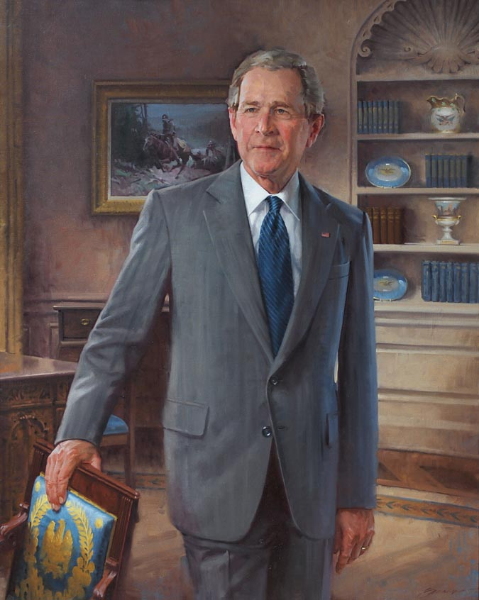 President2BBush2Bportrait