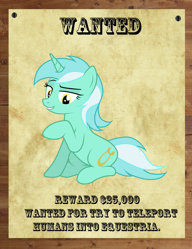 lyra wanted poster  by railphotos-d63uiu