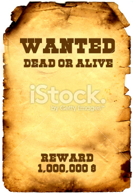 istockphoto 2980675 wanted dead or alive