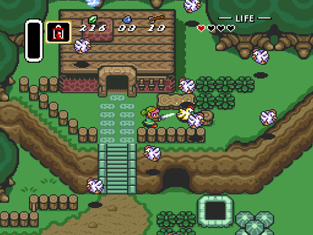 34385-Legend of Zelda The - A Link to th