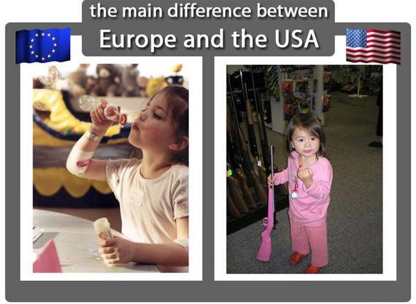europe usa difference