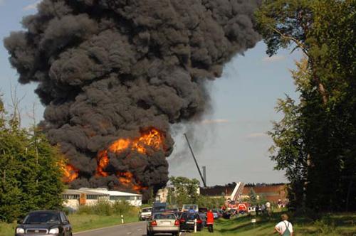 Brand Pfungstadt