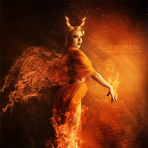 angel of fire by corvinerium by corviner