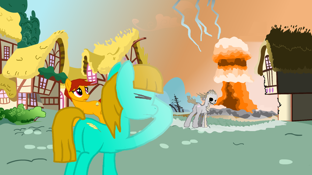 t4f9e6a ponyville nuclear destruction by