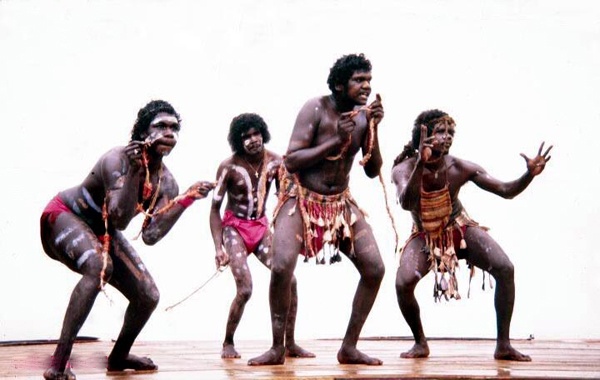 1981 event Australian aboriginals