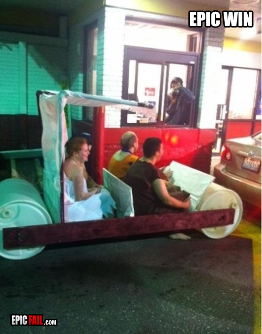 they-won-halloween-flinstones-drive-thru