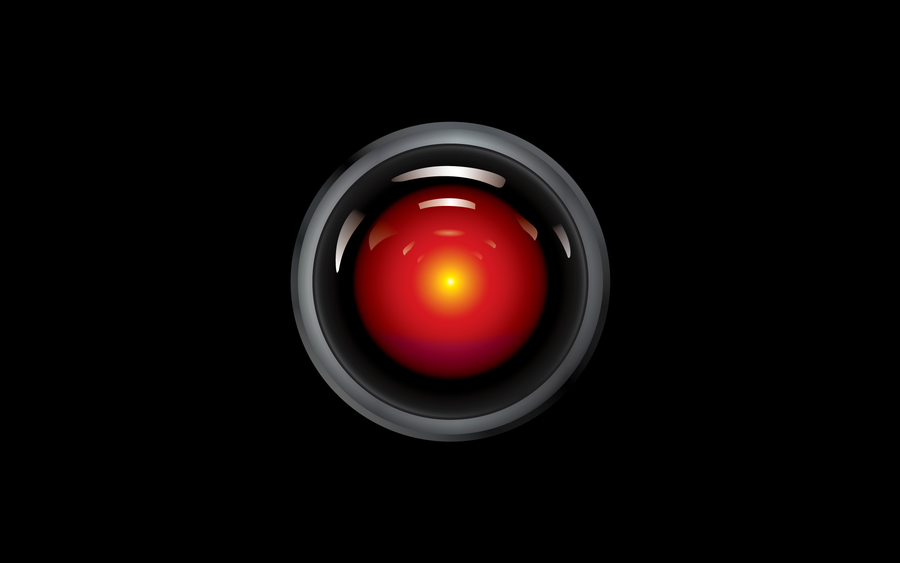 hal 9000 wallpaper by browen2o