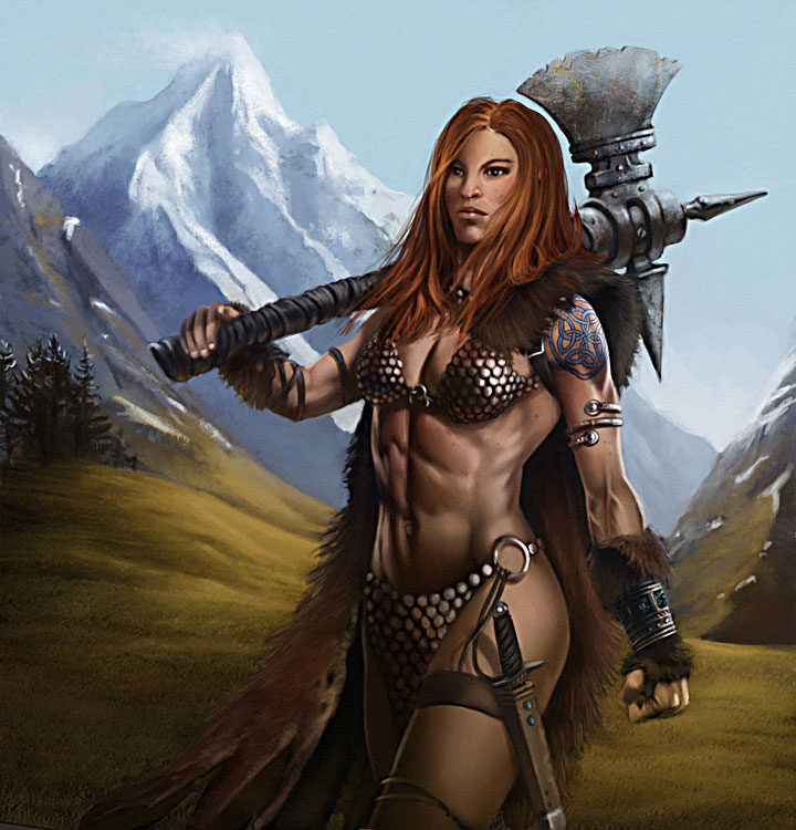red sonja by mitze-d5ecstx