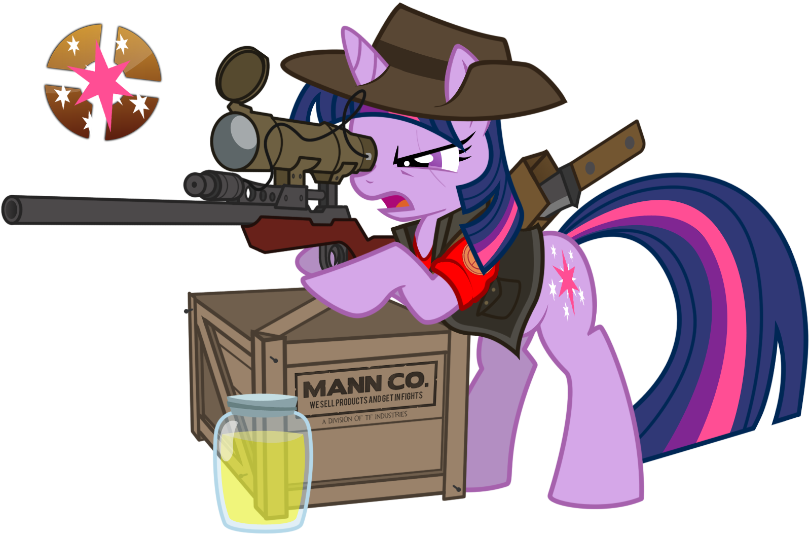 Twilight-is-a-sniper-my-little-pony-frie