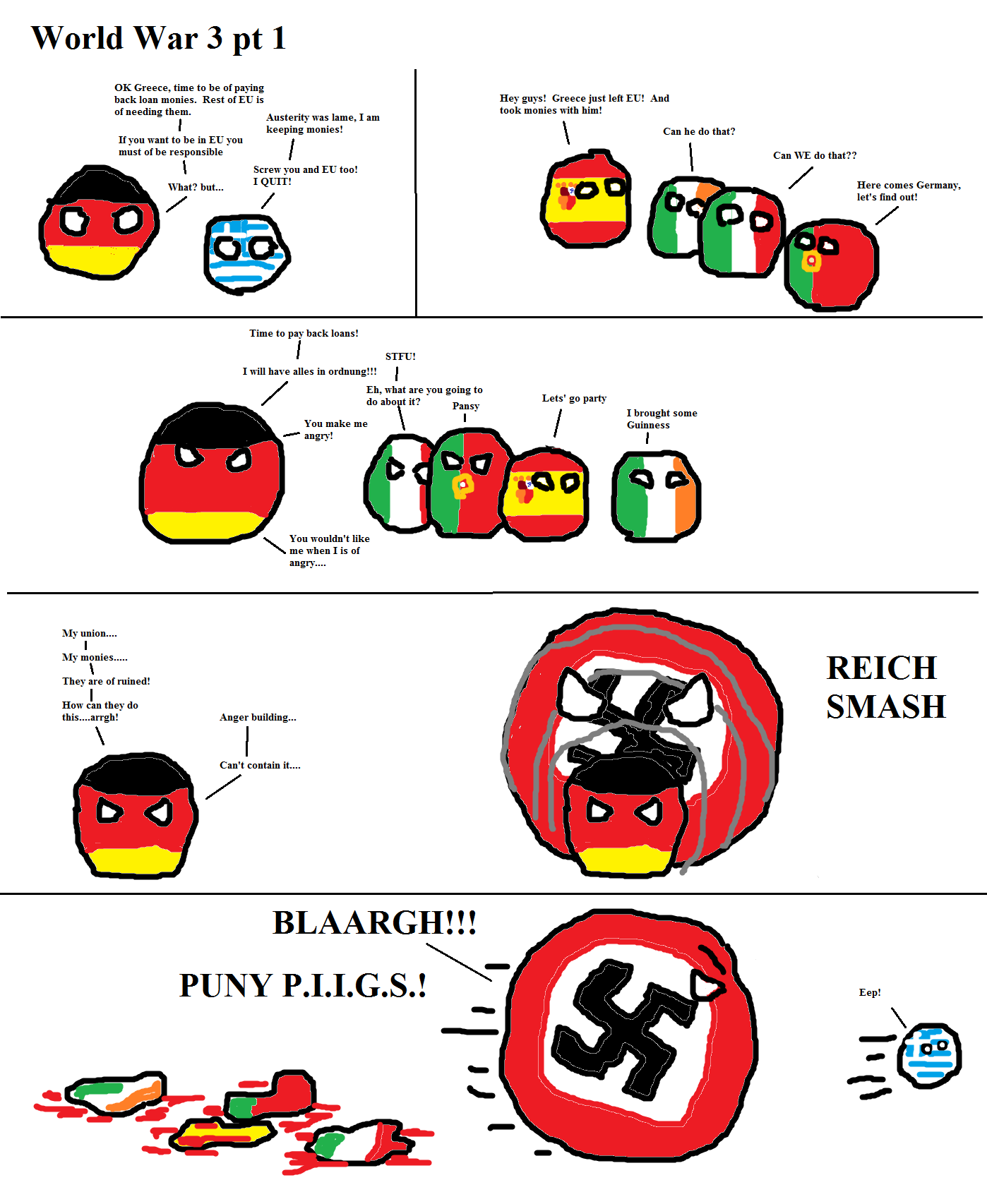 WW3 Part 1 - Polandball