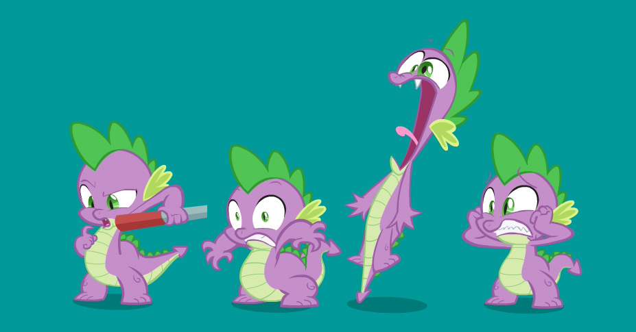 my little pony friendship is magic spike
