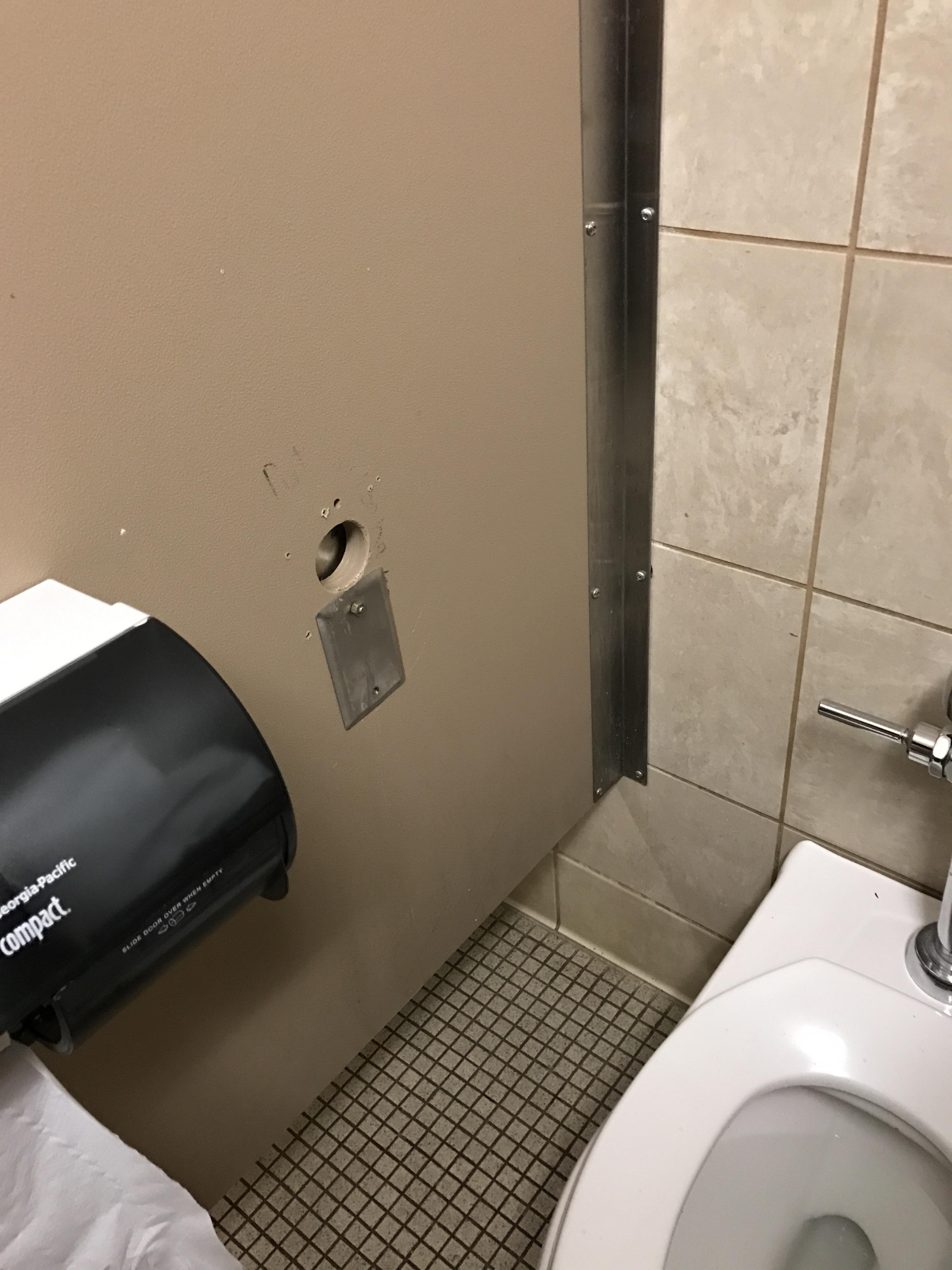 Sucked clit where is a gloryhole