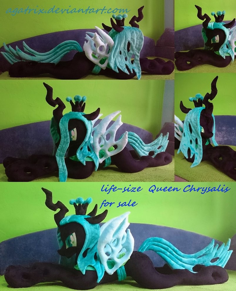 life size queen chrysalis for sale by ag