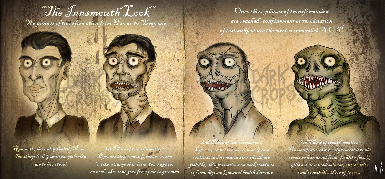 THE INNSMOUTH LOOK by VomitoryFecalius