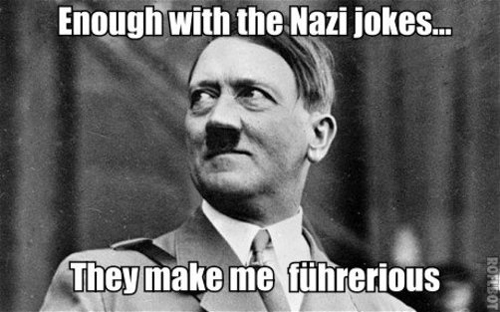 nazi jokes hitler meme