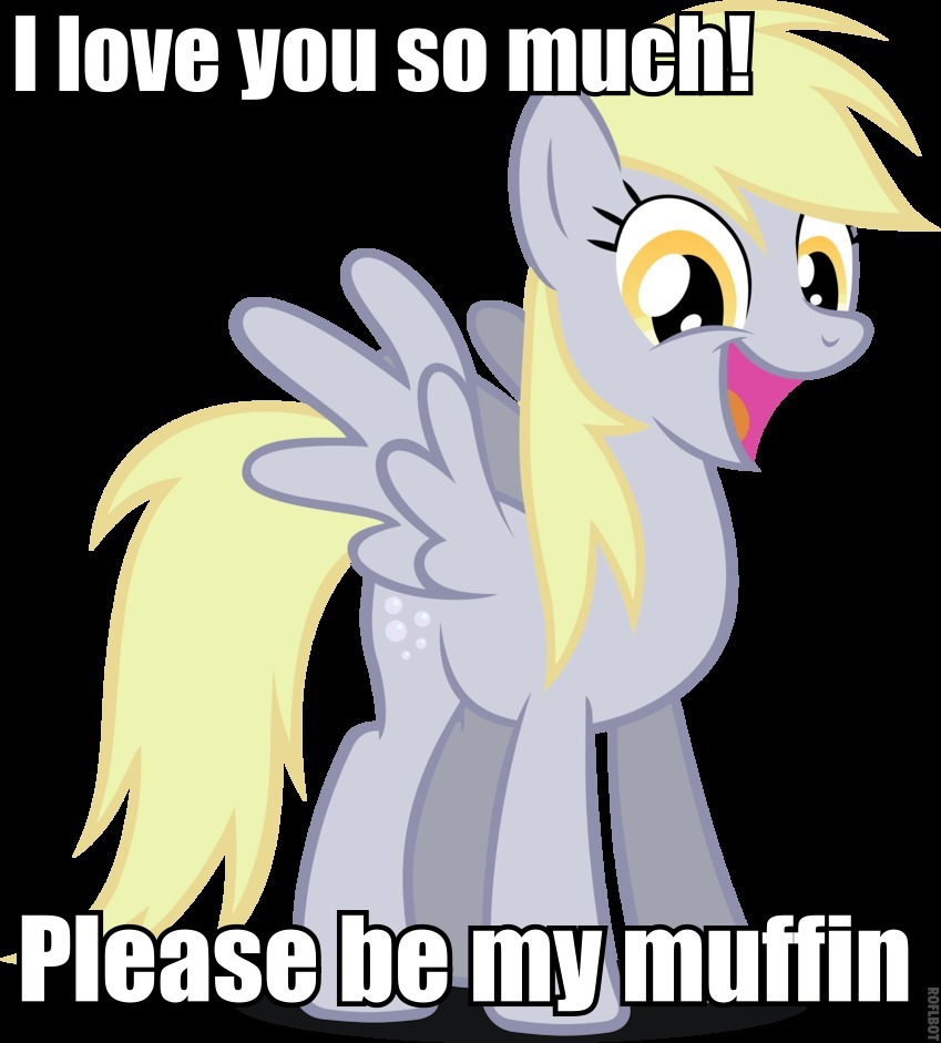 114526 - Derpy Hooves love muffin
