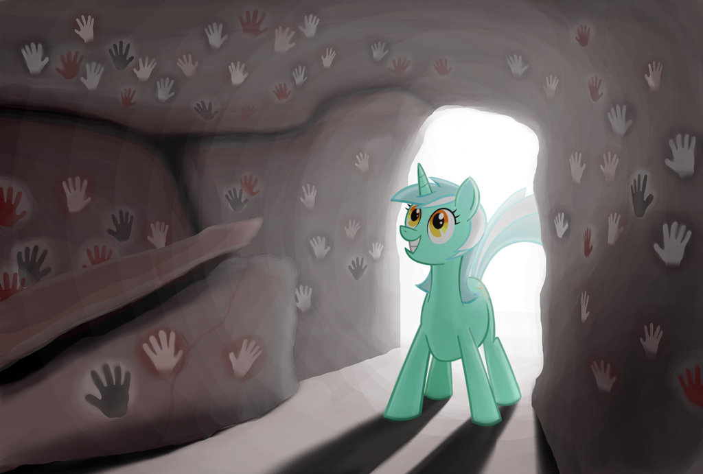 lyra and the cave of hands by sslug-d8g2
