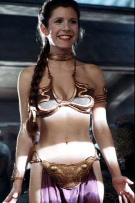 Star wars leia nackt bilder