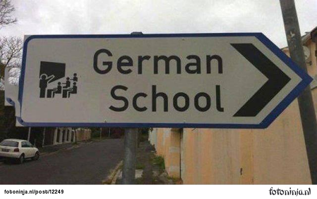 just-a-sign-for-a-german-school-13672133