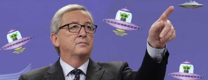 Juncker Ausserirdische