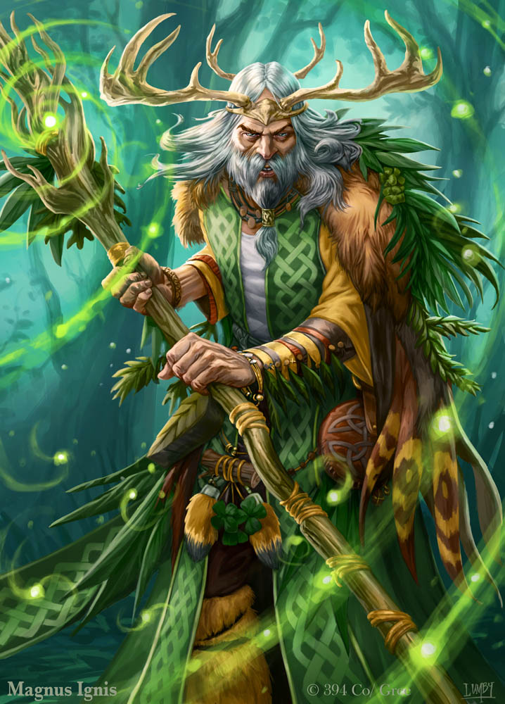 magnus ignis   druid eveolved by peterlu