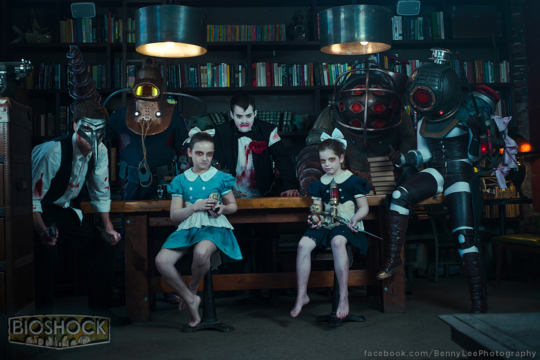 bioshock  one big happy family by benny