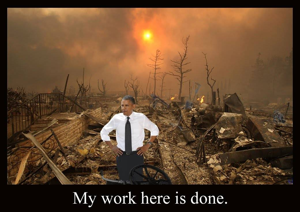 Obama-work is done