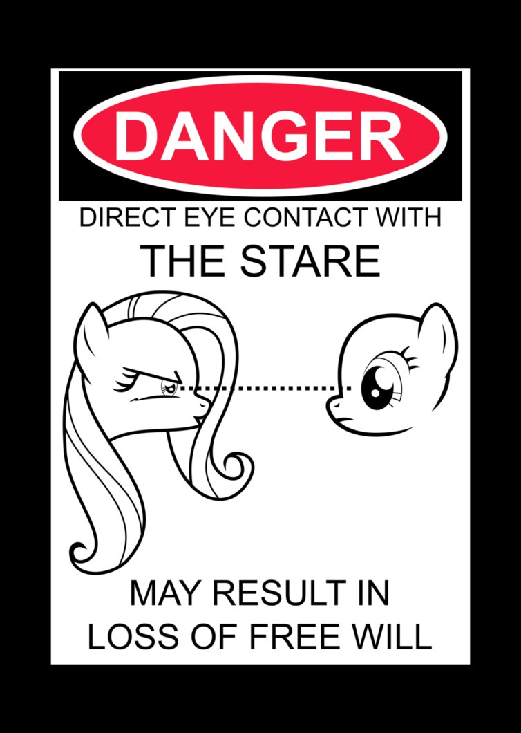 stare warning by uxyd-d5e9vlv
